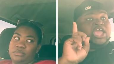 Sibling road trip goes viral!