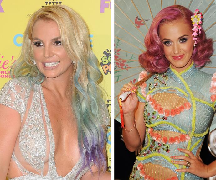 Katy Perry and Britney Spears