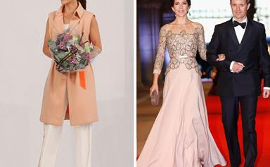 Her royal stylishness: Princess Mary is officially crowned as the most fashionable royal