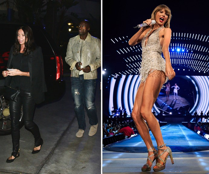 Seal, Erica Packer and Taylor Swift