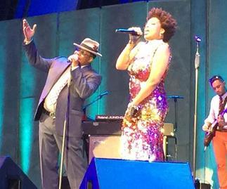 Bobby Brown's first performance since Bobbi Kristina's tragic death