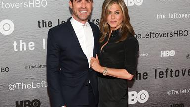 Justin Theroux is VERY happy since tying the knot with Jennifer Aniston