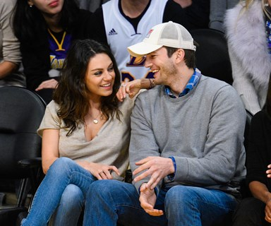 Mila Kunis hilariously compares Ashton Kutcher to The Bachelor!