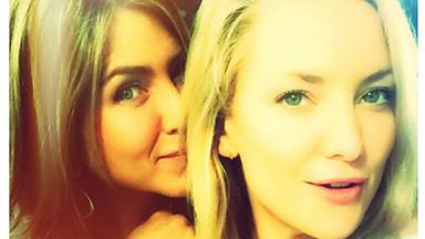 Famous Friends! Kate Hudson urges Jennifer Aniston to join Instagram