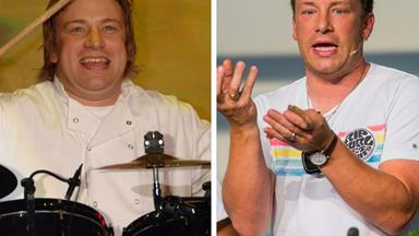 The naked chef? See Jamie Oliver's incredible weight loss