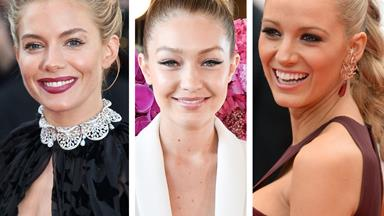 Spring into the new season with our favourite celebrity updos