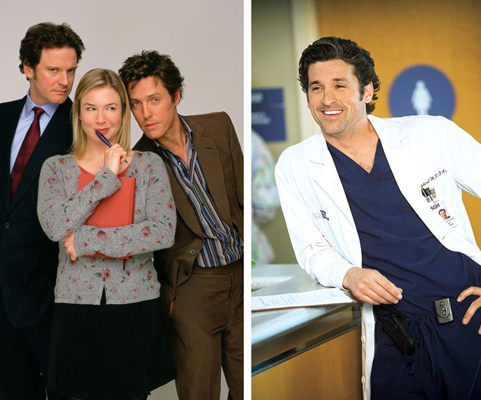 Bridget Jones and Patrick Dempsey