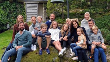 Princess Mary and Prince Frederik's royally historic family photo
