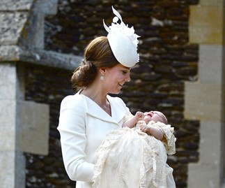 Princess Charlotte is christened