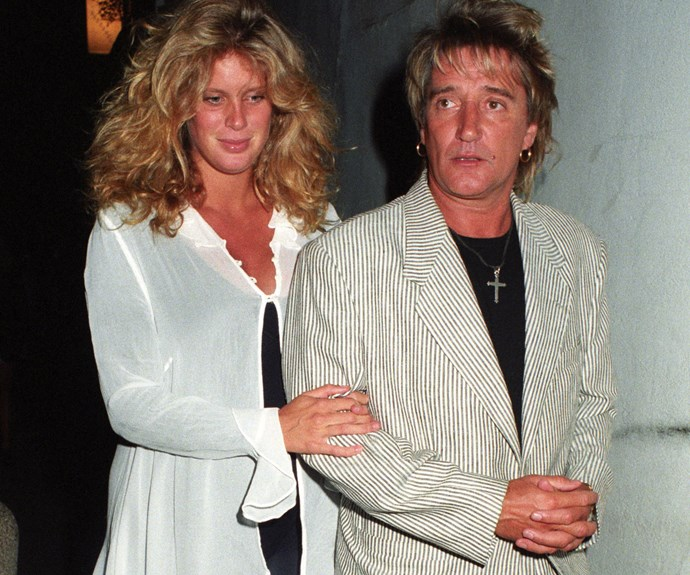 Rocker Rod Stewart married Kiwi stunner Rachel Hunter in 1990, and the couple stayed together for nine years before separating in 1999. Their divorce was finalised seven years later, in 2006. The couple have two children together, Liam and Renee.