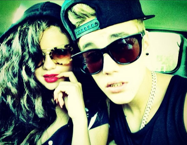 Justin and Selena in happier times. Photo: Instagram