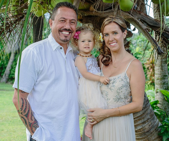 Mike, 53, and Jo, 42, wed in front of just five guests at the incredibly intimate ceremony.