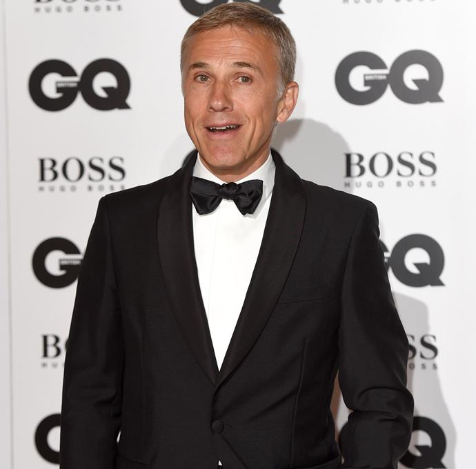 Christoph Waltz, who was honoured with the award for Actor of the Year. Photo: Getty