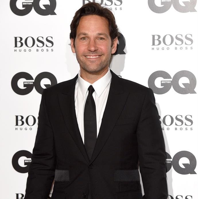 *Ant-Man* star Paul Rudd, who took home the gong for Leading Man of the Year. Photo: Getty
