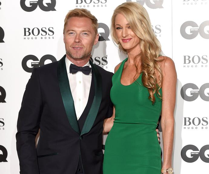 Ronan and Storm Keating, who recently tied the knot in a fairytale wedding at a Scottish country estate. Photo: Getty