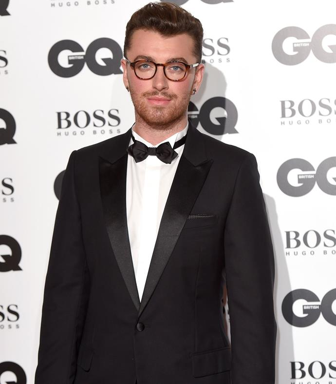 Sam Smith, who recently confirmed he would be singing the new Bond theme, was awarded the Ciroc Solo Artist of the Year award. Photo: Getty