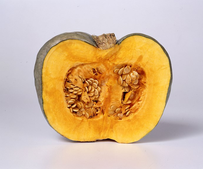Pumpkin seeds contain zinc, a mineral that helps with strong hair and nails.  Image: ACP Photographic/bauersyndication.com.au