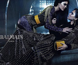Kendall and Kylie Jenner star in new Balmain ad