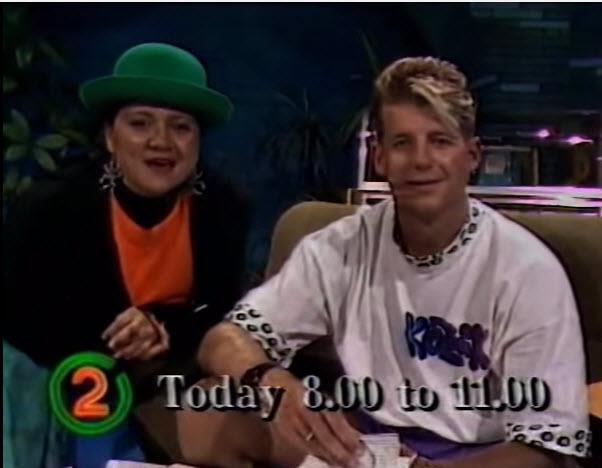 Watch: Simon Barnett on TV in the '90s