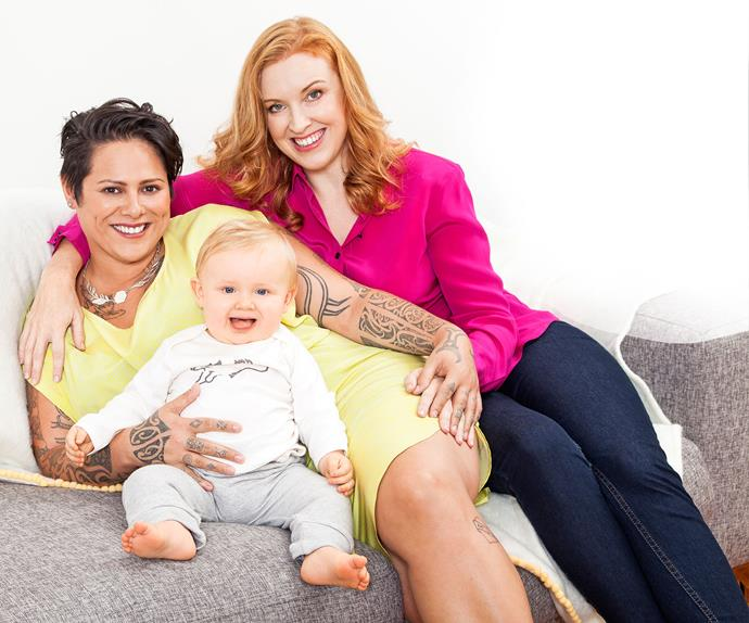 Meet Anika Moa and Natasha Utting's little treasure