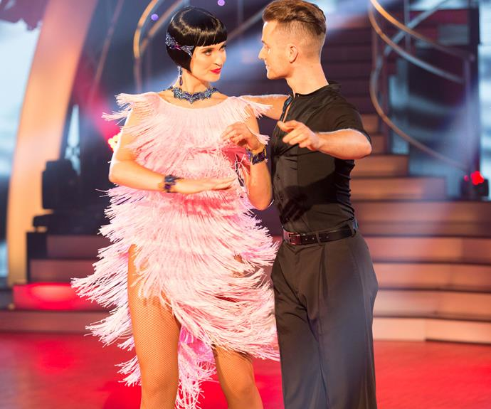 Siobhan placed in the top three again with her samba in the third week of the competition.