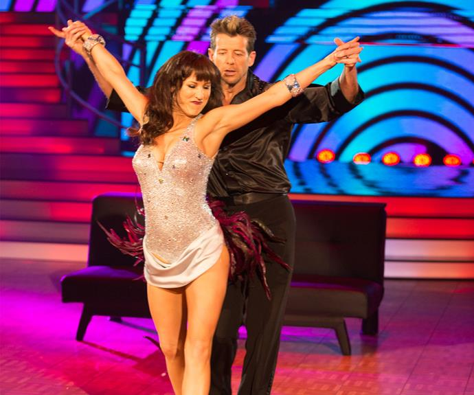 For the first of their two dances in semifinals week, Simon and Vanessa bravely attempted another cha-cha.