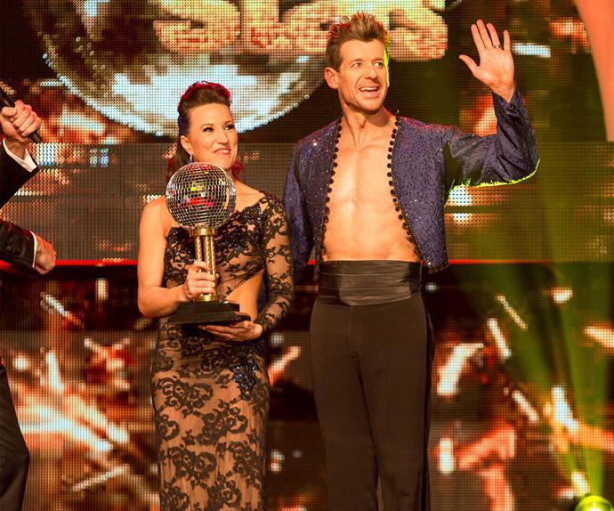 Simon Barnett's journey on Dancing with the Stars