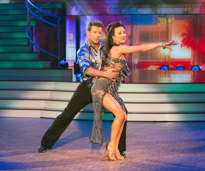 In week three of the competition, Simon continued his winning streak with a rumba that earned him and Vanessa 24 points.