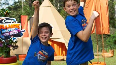 Kiwi brothers compete on Camp Orange