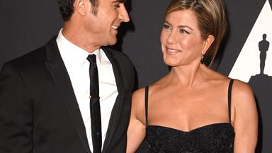 Jennifer Aniston and Justin Theroux are married