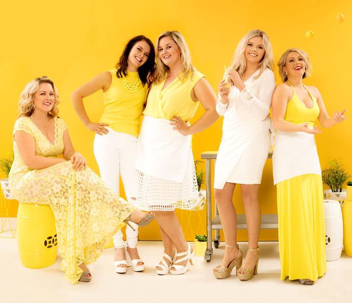 L-R: Amy, Gemma, Jess, Sarah and Glenda