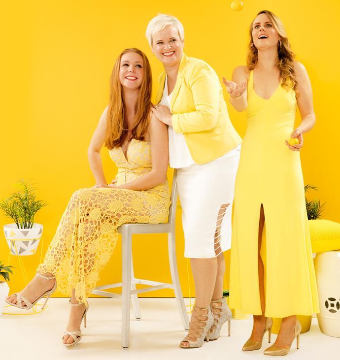 L-R: Victoria, Merran and Jemima