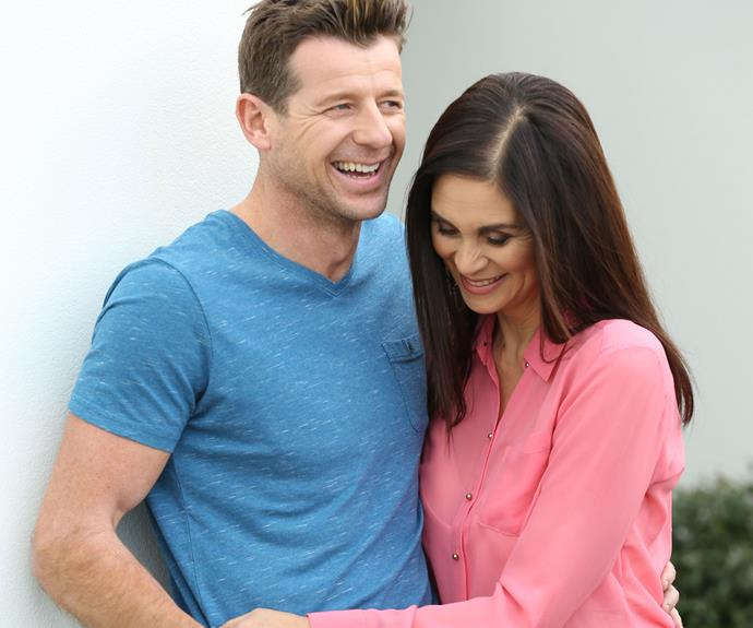 After enduring the arduous eight-week dancing bootcamp that led to Simon's victory, the More FM morning radio host and Jodi are back to their best - laughing and cuddling during our exclusive photo shoot!