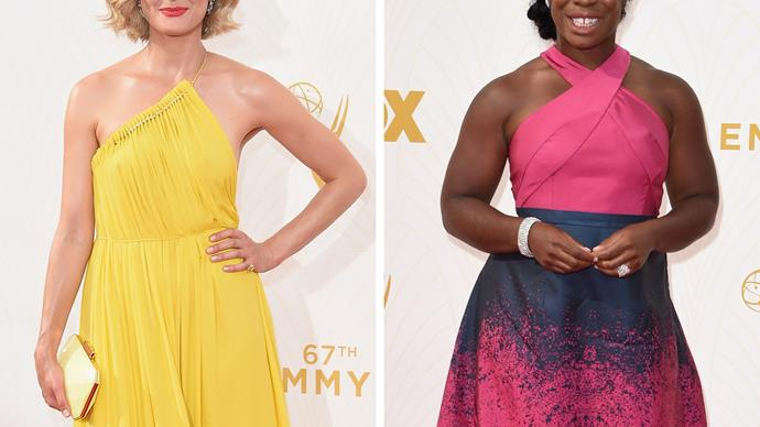 Taylor Schilling and Uzo Aduba Emmys 2015