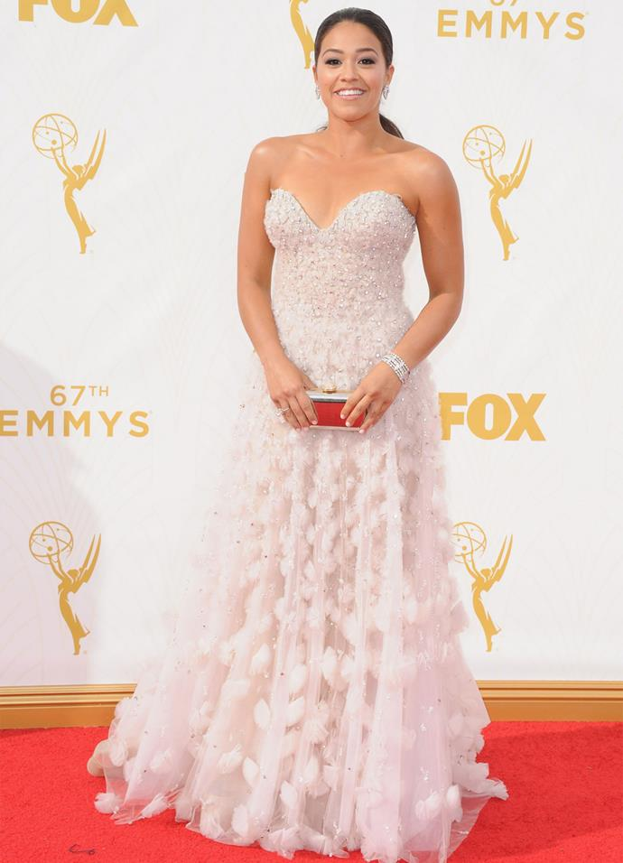 *Jane The Virgin* star Gina Rodriguez in Lorena Sarbu