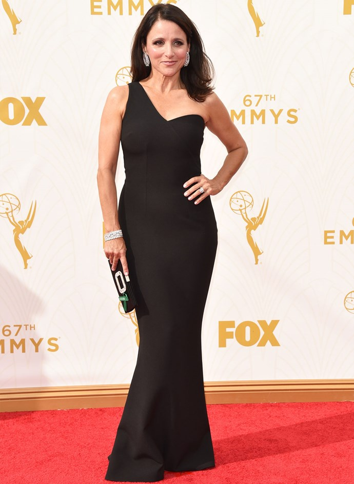 *Veep* star Julia Louis-Dreyfus in SAFiYAA