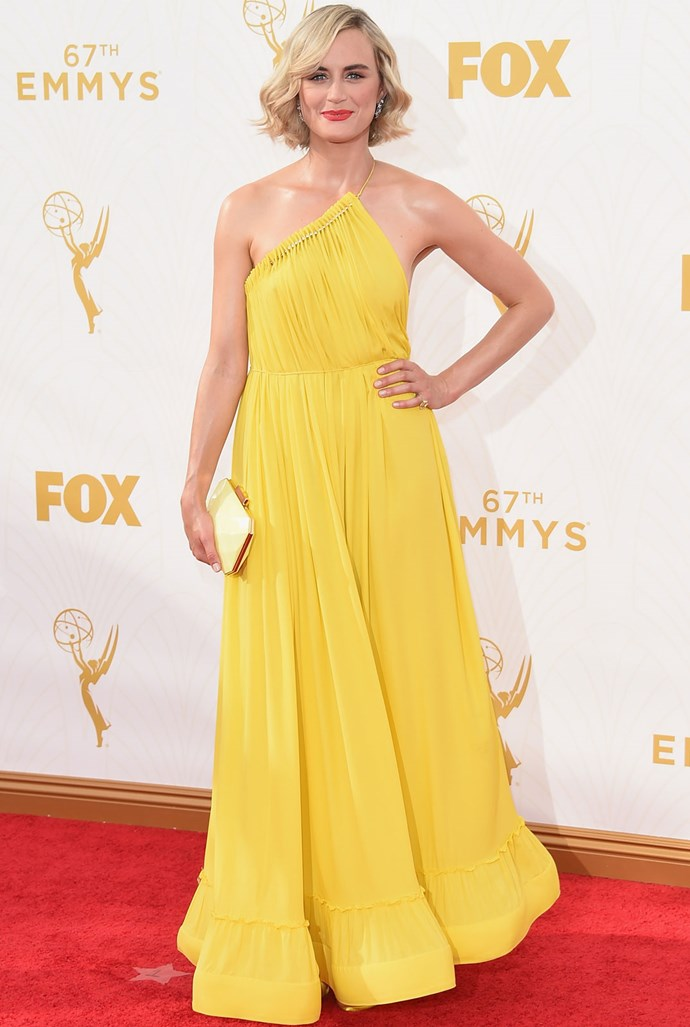 *Orange Is The New Black*'s Taylor Schilling in Stella McCartney