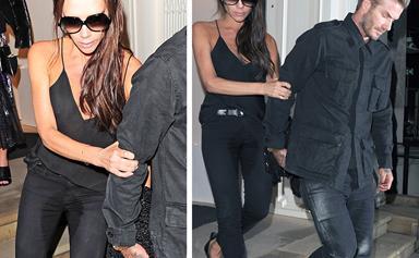Victoria Beckham addresses an awkward wardrobe malfunction