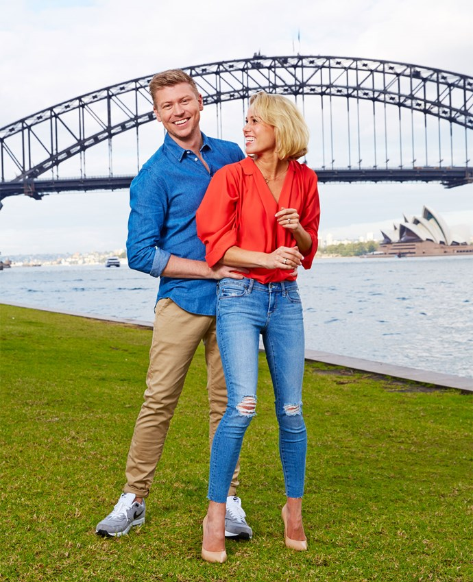 "Matt had to give up his gigs co-hosting *Lotto* and *Good Morning* so the couple could move to Sydney, but he insists, ""I was so incredibly proud and overwhelmingly excited for Ruth, there was no question about me coming on board."""