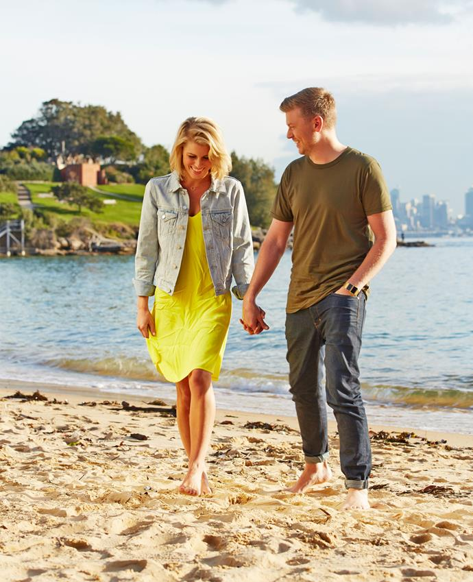 But just as Ruth, 32, and her husband-to-be, 34, were preparing to start a new life across the ditch together, it was Matt's turn to score his own dream job, as the New Zealand-based travel presenter for TV One's new lifestyle show *Kiwi Living.*