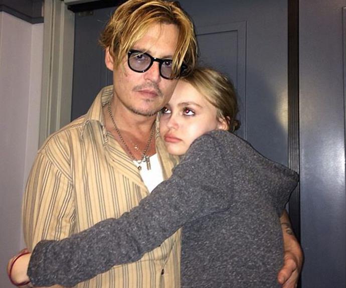 Lily-Rose Depp, johnny Depp