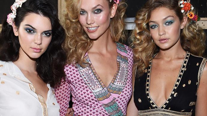 Kendall Jenner, Gigi Hadid, Karlie Kloss