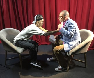 Justin Bieber and Paul Henry