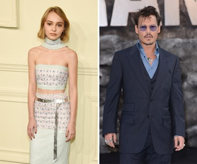 """Johnny Depp reveals his """"worries"""" over daughter Lily-Rose's modelling career"""