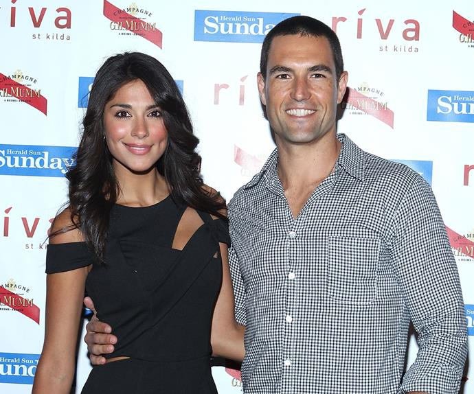Pia Miller and Brad Miller