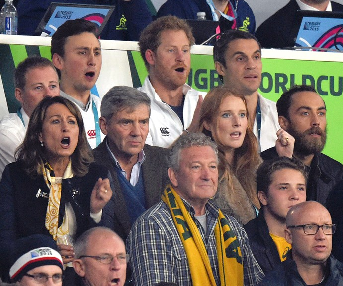 Prince Harry and the Middletons