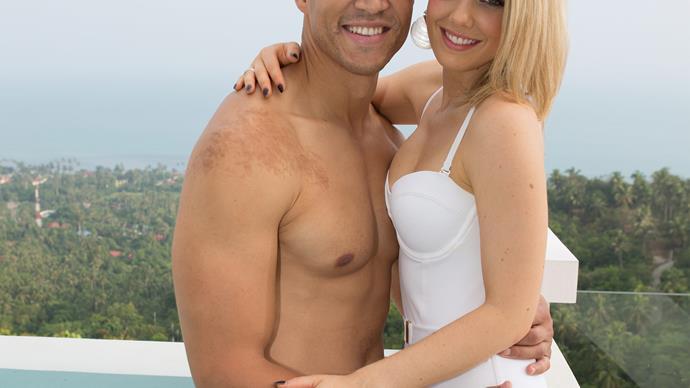 Blake Garvey and Louise Pillidge