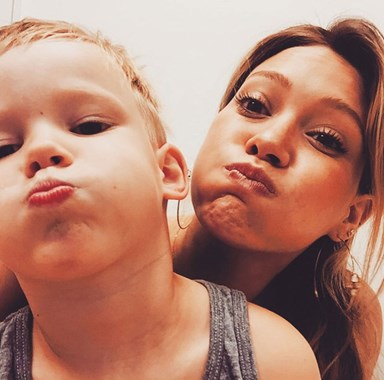 Adorable celebrity kids on Instagram