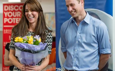 No more sweets for you! Prince William jokes about his new diet
