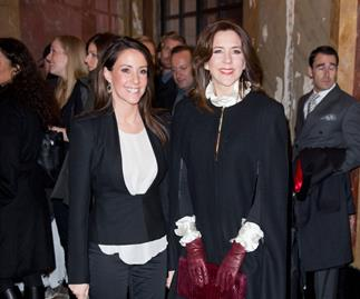 Princess Marie and Princess Mary